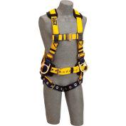 DBI-SALA® 1106405 Delta Vest Style Iron Worker Harness, Tongue Buckle, 420 Cap Lbs, L