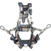 3M™ DBI-SALA® ExoFit STRATA™ Climbing Harness, Back/Front/Side D-Ring, XL, 1112583