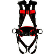 Protecta® 1161308 Construction Style Harness, Back & Side D-Rings, S