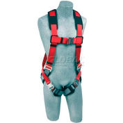 Protecta® PRO™ Vest Style Harness 1191252, W/Back D-Ring, Quick Connect Buckles, Small
