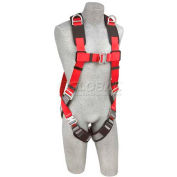Protecta® PRO™ Vest Style Harness 1191257, Back & Shoulder D-Rings, M/L