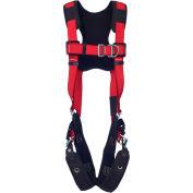 Protecta® 1161432 Comfort Vest-Style Climbing Harness, Tongue Buckle & Pass Thru, XXL