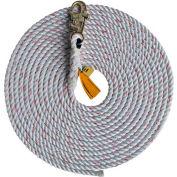 DBI-SALA® 1202742 Rope Lifeline, 25'L, 310 Cap Lbs