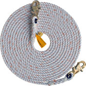 DBI-SALA® 1202753 Rope Lifeline, 30'L, 310 Cap Lbs