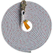 DBI-SALA® 1202844 Rope Lifeline, 100'L, 310 Cap Lbs