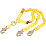 DBI-SALA® 1244455 ShockWave2™ Shock Absorbing Lanyard, 6'L, 130-310 Cap Lbs