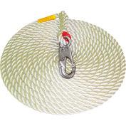Protecta® 1299992 Vertical Lifeline, 75'L, 310 Cap Lbs