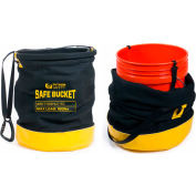 Python® 1500135 Safe Bucket 100Lb Load Rated Hook And Loop Canvas- 5 Gallon (New )