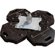 DBI-SALA® Roof Top Freestanding Counterweight Anchor with 16 Plates, 45 lb. Each