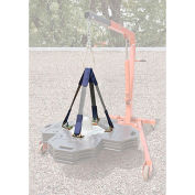 DBI-SALA® Web Sling Lifting Kit For 2100185 Roof Top Counterweight Anchor System