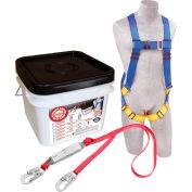 3M™ DBI-SALA® 2199802 Roofer Anchor Kit, 6' Lanyard, 310 Cap Lbs