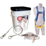 DBI-SALA® 2199807 Roofer Anchor Kit, Reusable, 310 Cap Lbs