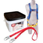 DBI-SALA® 2199809 Roofer Anchor Kit, 310 Cap Lbs