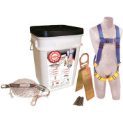 DBI-SALA® 2199811 Compliance in a Can™ Roof Fall Protection Kit - 25 Pack