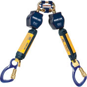 DBI-SALA® 3101275 Nano-Lok Twin Self Retracting Lifeline, 6'L, 420 Cap Lbs