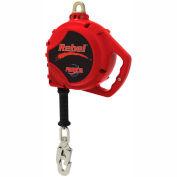PROTECTA® Rebel™ Self Retracting Lifeline - Cable, 20 ft. Steel Rope w/Snap Hook - 3950517