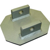 DBI-SALA® 8510816 Weld-On Mounting Plate Anchor, 310 Cap Lbs