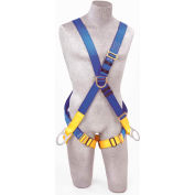 Protecta® AB17611 ECTA FIRST 4 Point Positioning Crossover Climbing Harness, Pass-Thru, M