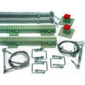 Rack Hardware, Extension Starter Kit, Flush Mount