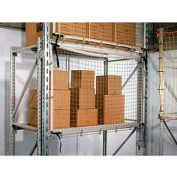 Rack Guard Net, 20'LX25'H GR FR, #480, 3/8 Frame