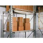 "Rack Guard Net, 16'LX30'8""H GR FR, #480, 3/8 Frame"