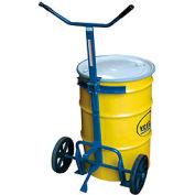 Vestil Barrel-Drum Truck DBT-1200 Rubber Wheels 800 Lb. Capacity