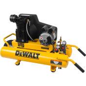 DeWALT® DXCMTA1980854,1.9HP,Wheelbarrow Compressor,8 Gal,Horiz,155 PSI,5.7 CFM,1-Phase 120/240V