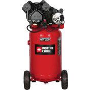 Porter Cable® PXCMLC1683066,1.6HP,Portable Comp.,30 Gal,Vert.,135 PSI,5.3 CFM,1-Phase 120/240V