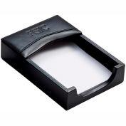 DACASSO® Classic Black Leather 4 x 6 Memo Holder