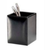 DACASSO® Econo-Line Black Leather Pencil Cup