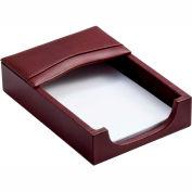 DACASSO® Mocha Leather 4 x 6 Memo Holder