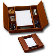 DACASSO® Rustic Brown Enhanced Conference Room Organizer