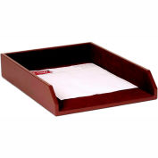 DACASSO® Chocolate Brown Leather Legal-Size Tray