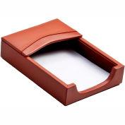 DACASSO® Tan Leather 4 x 6 Memo Holder
