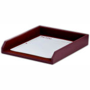 DACASSO® Two-Tone Leather Letter Tray