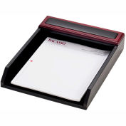 DACASSO® Rosewood & Leather Letter Tray