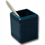 DACASSO® Blackwood and Leather Pencil Cup