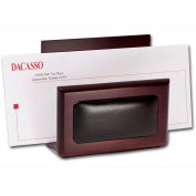 DACASSO® Walnut & Leather Letter Holder