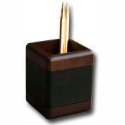 DACASSO® Walnut & Leather Pencil Cup