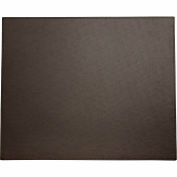"DACASSO® Dacasso Colors Faux Leather 17"" x 14"" Table Mat - Espresso Brown"