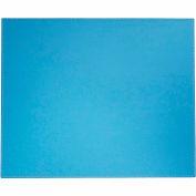 "DACASSO® Dacasso Colors Faux Leather 17"" x 14"" Table Mat - Sky Blue"