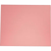 "DACASSO® Dacasso Colors Faux Leather 17"" x 14"" Table Mat - Cameo Pink"