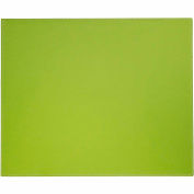 "DACASSO® Dacasso Colors Faux Leather 17"" x 14"" Table Mat - Lime Green"