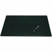 "DACASSO® Black Leather 24"" x 19"" Desk Mat without Rails"