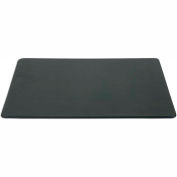 """DACASSO® Black Leather 20"""" x 16"""" Conference Table Pad"""