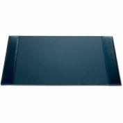 "DACASSO® Econo-Line Black Leather 30"" x 18"" Desk Pad"