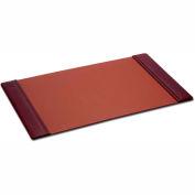 "DACASSO® Mocha Leather 38"" x 24"" Side-Rail Desk Pad"
