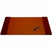"DACASSO® Mocha Leather 22"" x 14"" Side-Rail Desk Pad"