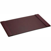 "DACASSO® Chocolate Brown Leather 25.5"" x 17.25"" Side-Rail Desk Pad"