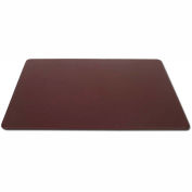 "DACASSO® Chocolate Brown Leather 30"" x 19"" Desk Mat without Rails"